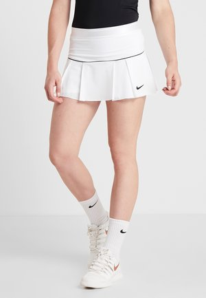 VICTORY SKIRT - Sports skirt - white/black