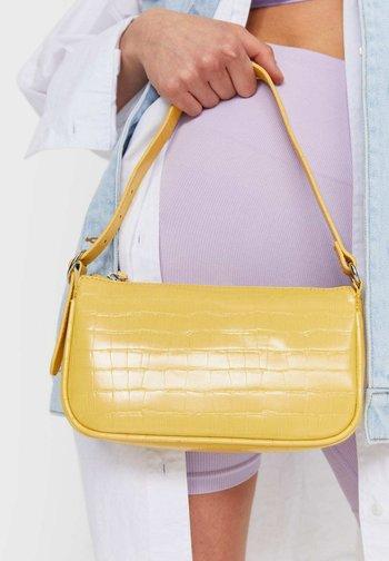 Handbag - mustard yellow