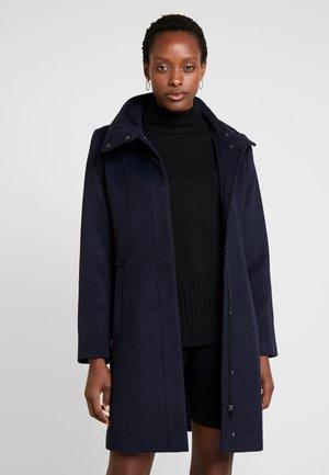 FEMININE COAT - Short coat - navy