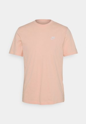 CLUB TEE - T-paita - arctic orange/white