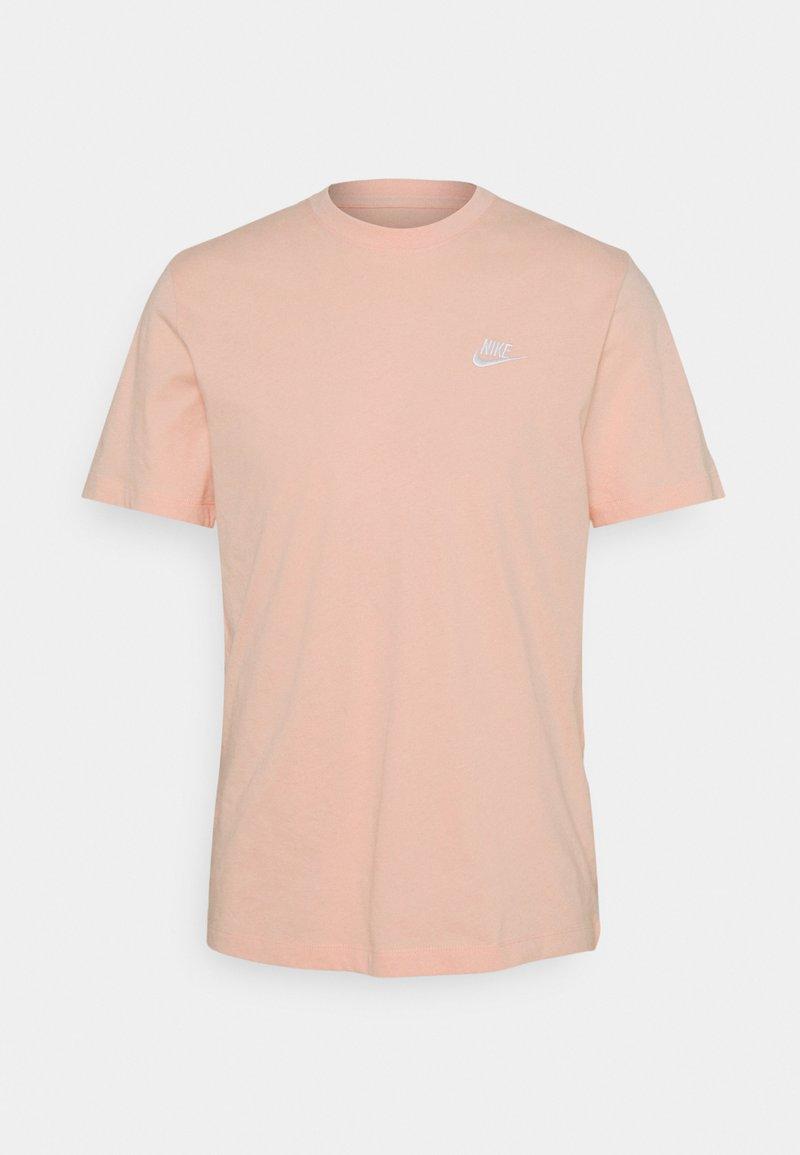Nike Sportswear - CLUB TEE - T-shirt basic - arctic orange/white