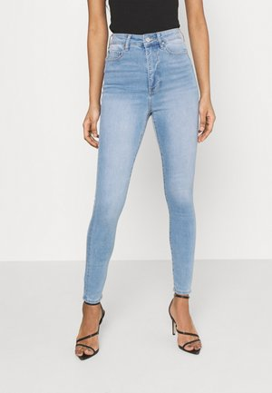 BELLA HIGH RISE SCULPTING - Jeansy Slim Fit - mid wash