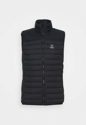 SPIRE MIMIC VEST MEN - Veste sans manches - true black