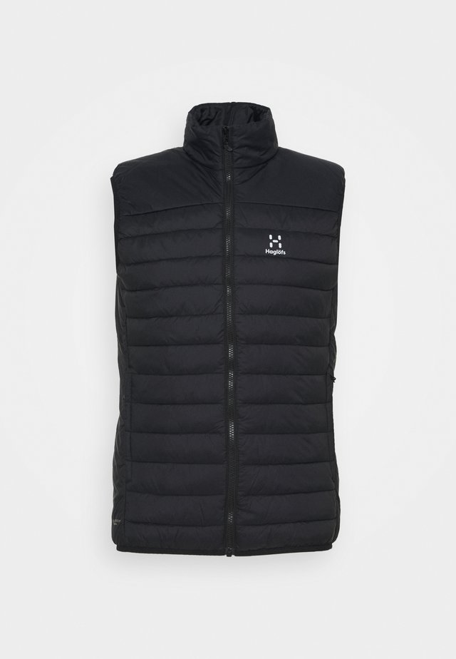 SPIRE MIMIC VEST MEN - Chaleco - true black
