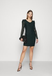 ONLY - ONLPOULA DRESS - Shift dress - scarab - 1