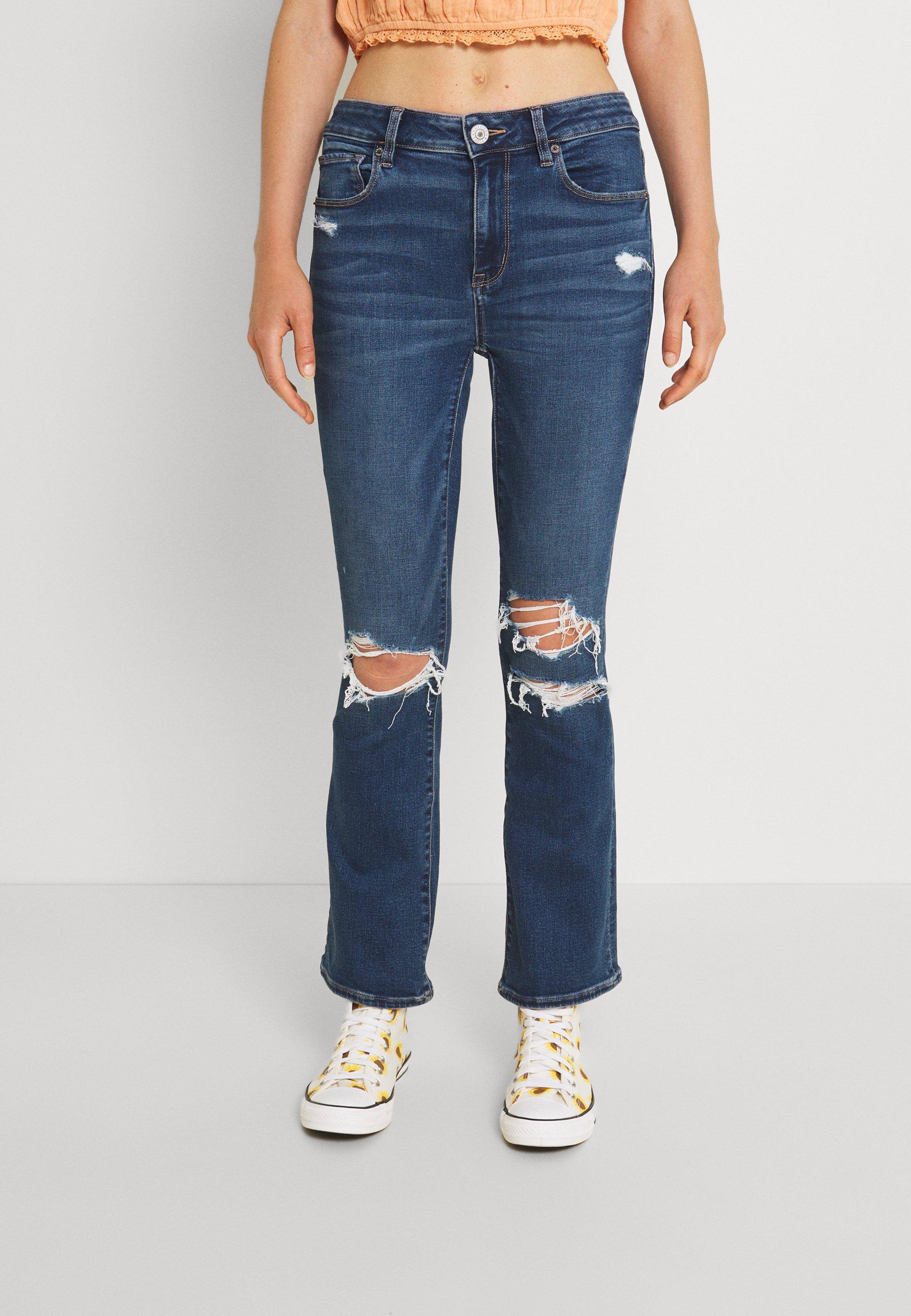 Women KICK CROP - Slim fit jeans