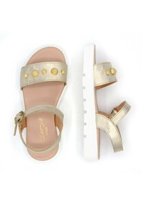 CLARYS - METALIZADA PLATINO - Sandals - oro - 3