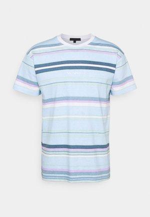 UNISEX SUNDAZE STRIPED REGULAR - T-shirt imprimé - light blue