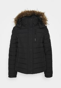 Superdry - CLASSIC FUJI JACKET - Winter jacket - black - 5