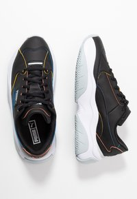 Puma - STORM.Y POP - Sneakersy niskie - black - 3