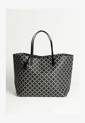 Shoppingveske - black/white