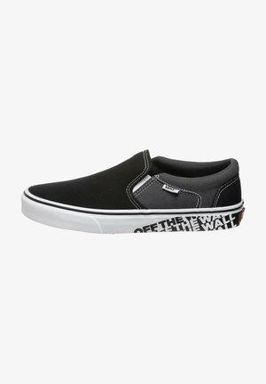 ASHER  - Sneakers basse - otw sidewall black  white