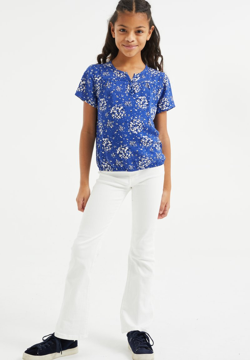 WE Fashion - MET BLOEMENDESSIN - Bluser - all-over print