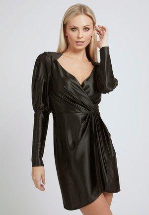 DRAPIERTES  - Cocktail dress / Party dress - schwarz