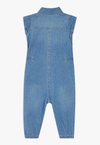 Levi's® - RUFFLE SLEEVE UTILITY - Jumpsuit - blue - 1