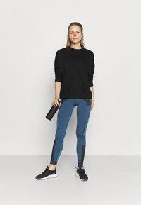 Cotton On Body - LONG SLEEVE CREW - Sweatshirt - black - 1
