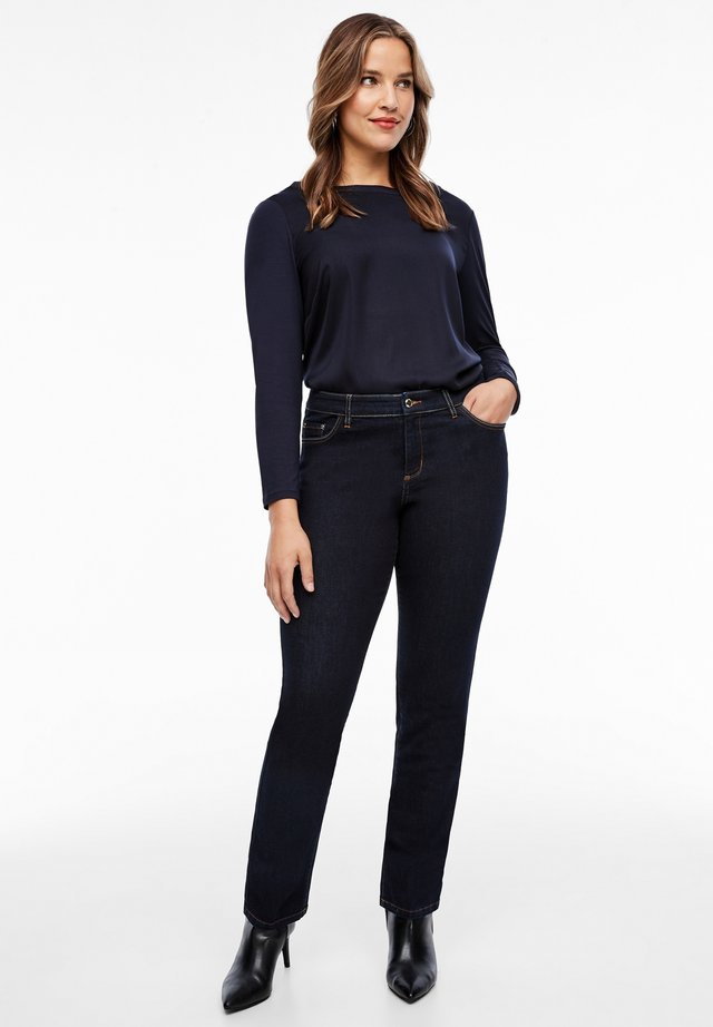SLIM FIT - Slim fit jeans - dark blue