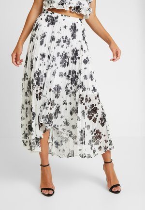 UNQUE SKIRT - Pleated skirt - ivory