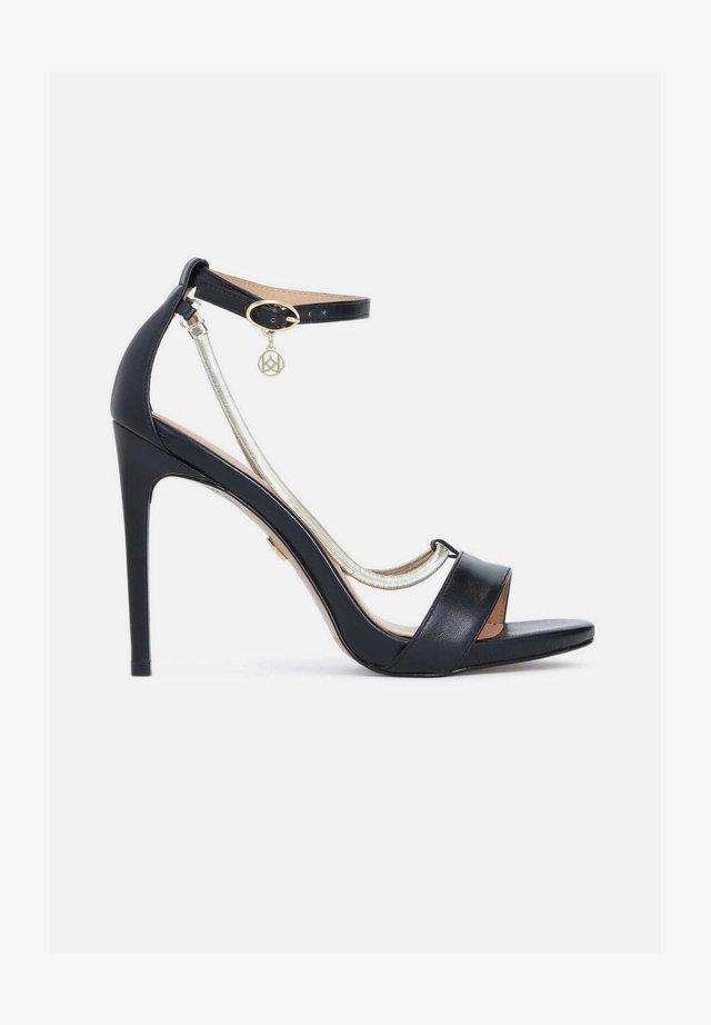 LAZURITE - Sandalen met hoge hak - black