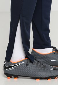 Nike Performance - DRY ACADEMY - Tracksuit bottoms - obsidian/white/white - 3