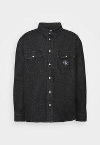Calvin Klein Jeans - SHIRT - Shirt - denim black - 4