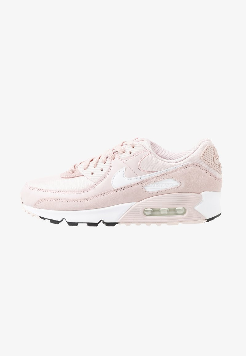 Afilar Miguel Ángel hipocresía  Nike Sportswear AIR MAX 90 - Trainers - barely rose/white/black/light pink  - Zalando.co.uk