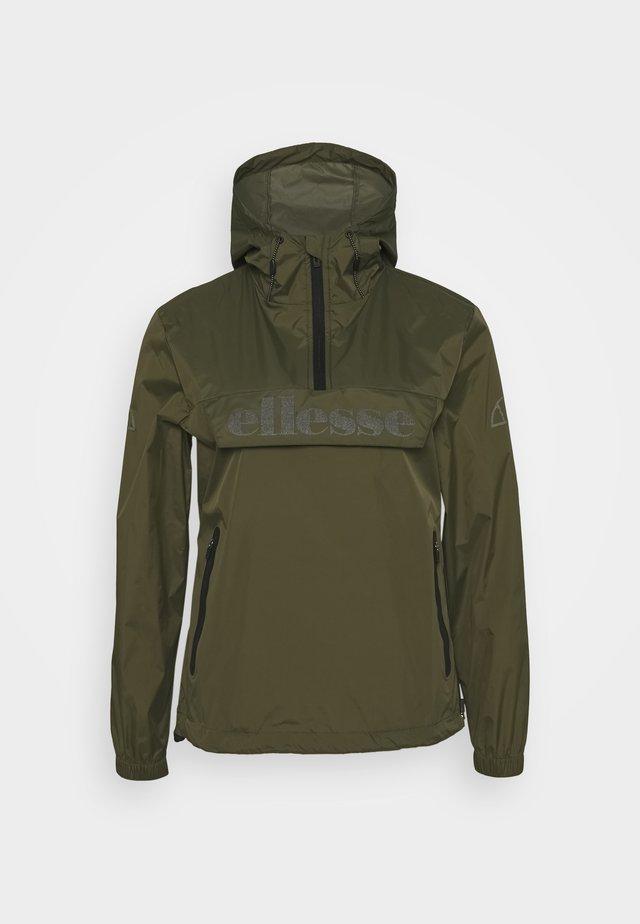 TEPOLINI - Waterproof jacket - khaki