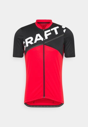 CORE ENDUR LOGO  - Sportshirt - bright red/black