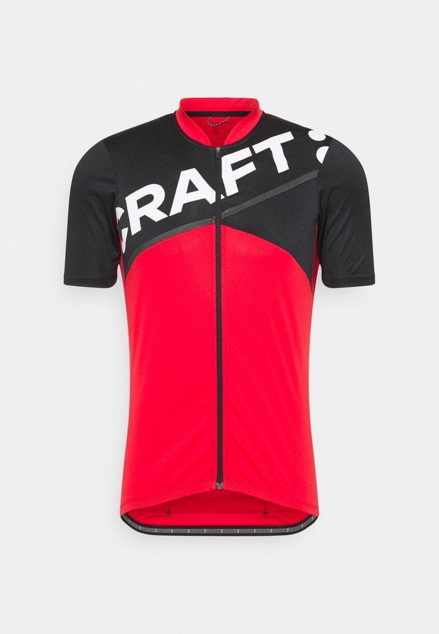 CORE ENDUR LOGO  - T-shirt sportiva - bright red/black