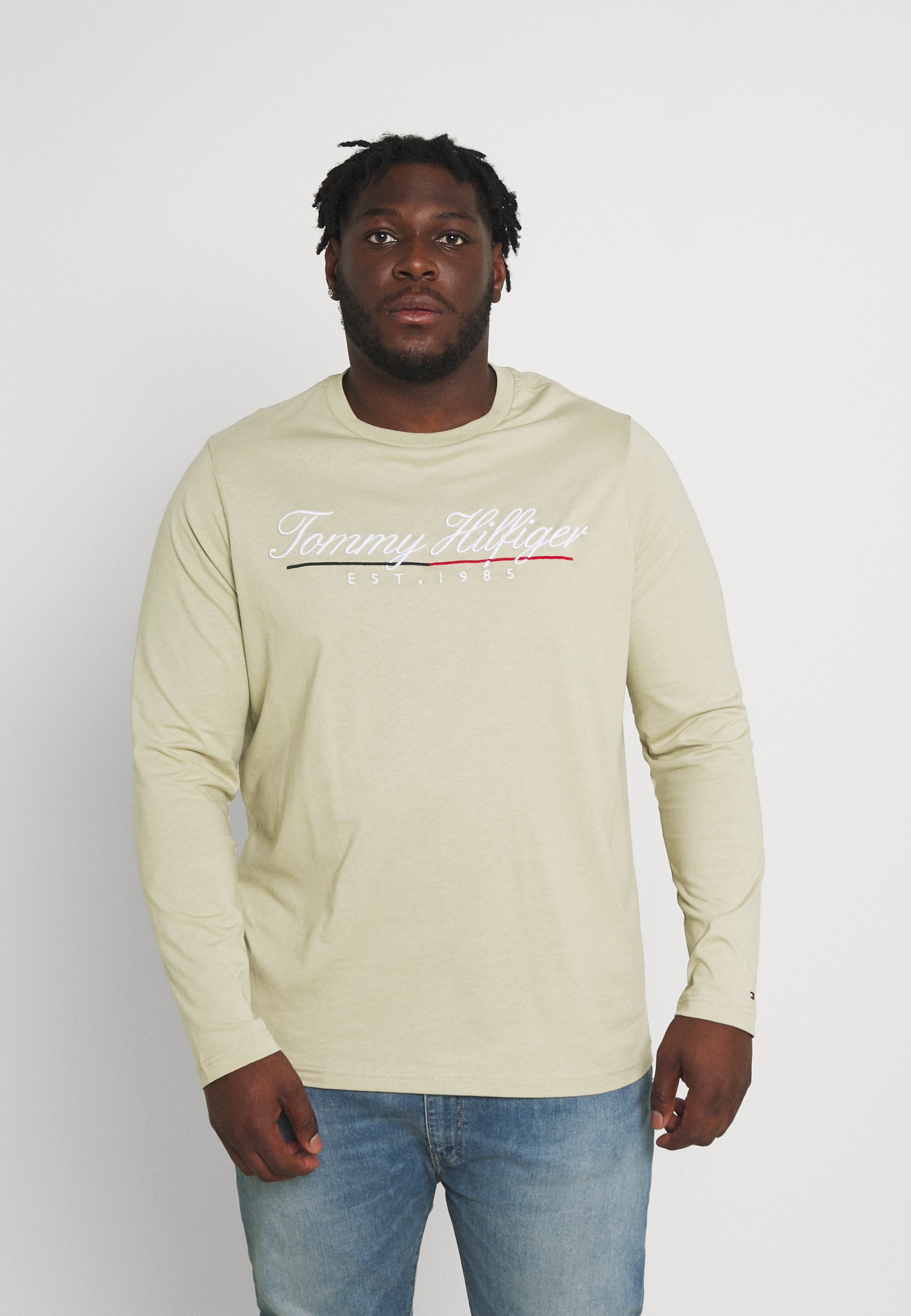 Men SCRIPT LOGO TEE UNISEX - Long sleeved top