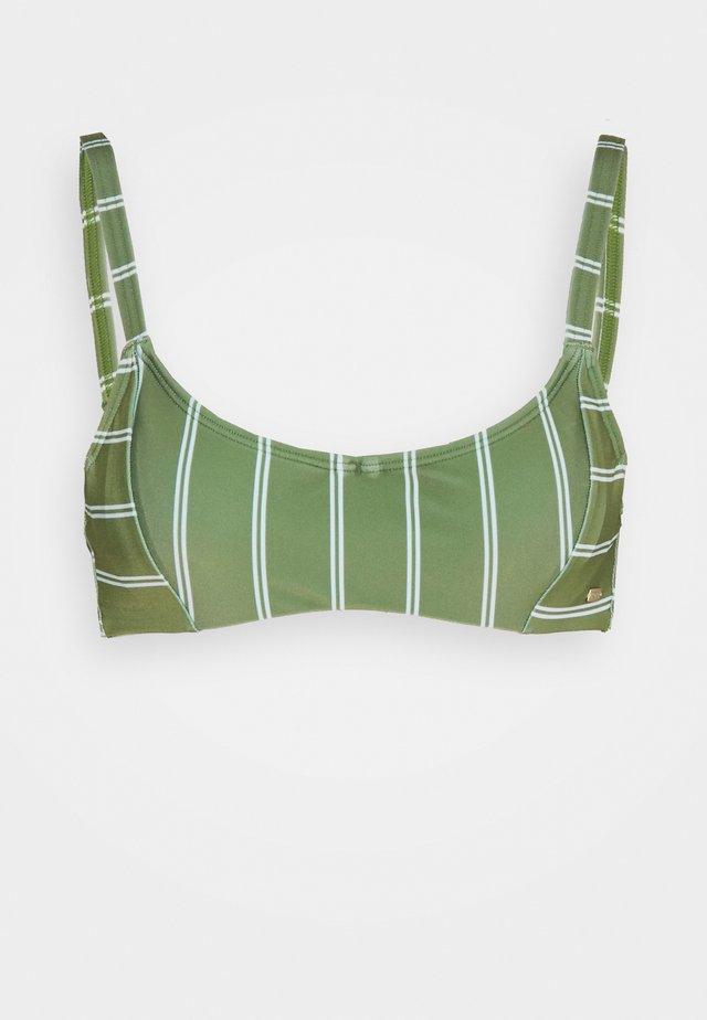 Bikini-Top - vineyard green