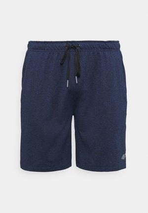 HERREN THANKMAR - Pantalón corto de deporte - black melange