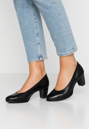 WOMS COURT SHOE - Czółenka - black