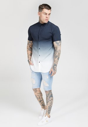 RESORT SHIRT - Shirt - navy/white