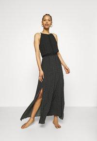 Rip Curl - ISLAND LONG DRESS - Strandaccessoire - black - 0