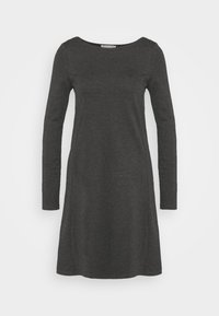 Anna Field - Jersey dress - dark grey melange - 5