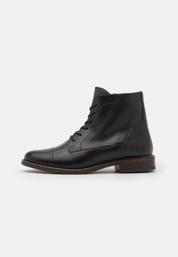 LEATHER - Veterboots - blue