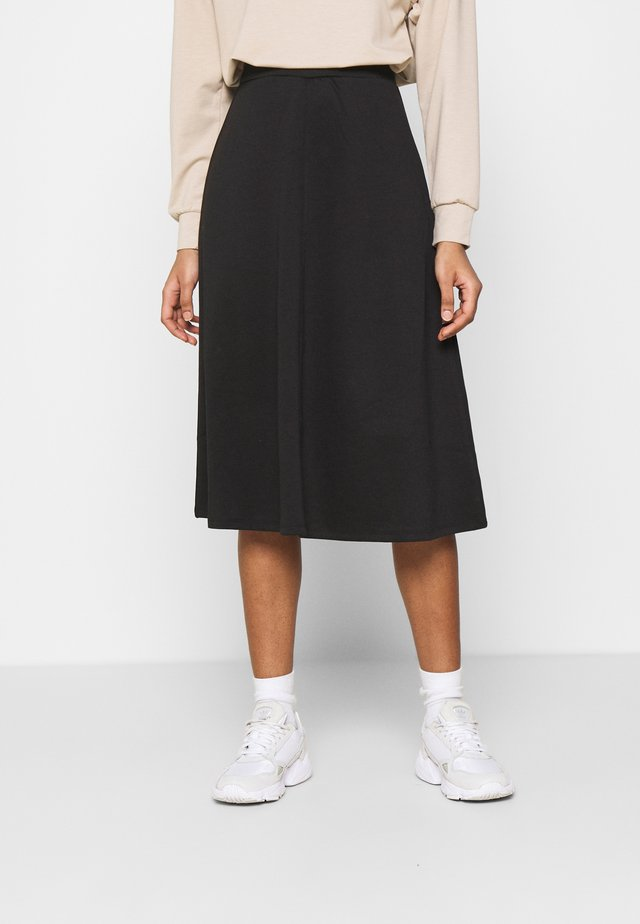 OBJSAVA SKIRT - Áčková sukně - black