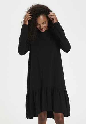 KADANA - Jersey dress - black deep