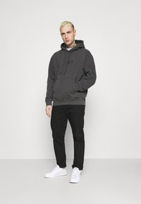 Obey Clothing - BOLD IDEALS SUSTAINABLE HOOD - Collegepaita - black - 1