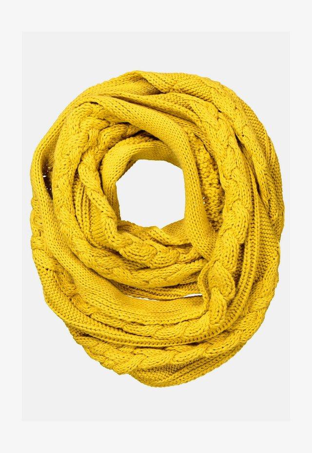 Sjaal - helles senfgelb