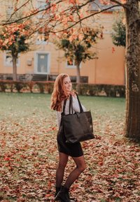 Gusti Leder - Tote bag - black - 1
