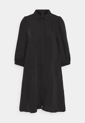 YASSOPHIA SOLID DRESS  - Shirt dress - black