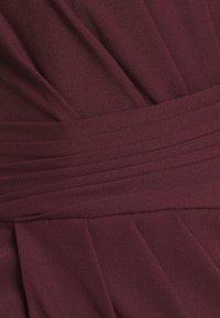 Forever New - CHARLOTTE DRAPE DRESS - Shift dress - burgundy - 6
