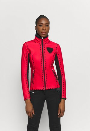 DIXY SOFT - Soft shell jacket - red