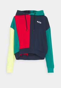 Fila - BAYOU - Sweatshirt - black iris/true red/teal green/aurora - 4