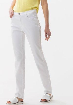 STYLE CAROLA - Jean droit - white