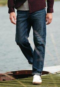 Next - Bootcut jeans - blue denim - 3