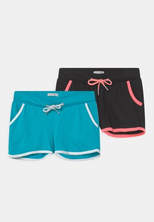 TEEN GIRLS 2 PACK - Shorts - black