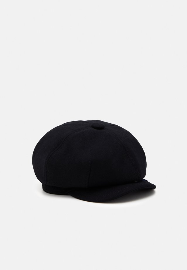 RIV EMBRO HAT UNISEX - Muts - dark black
